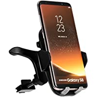 Car Wireless Charger,iPosible Fast Car Charging Mount Air Vent Phone Holder for Samsung Galaxy S8 S8 Plus S7 Edge S7 ,Qi Standard Car Mount Charger for for iPhone X 8 8 Plus-Black