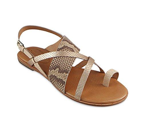Corso Como Womens Carnival Toe Ring Sandal  Natural Multi  7 5 M Us