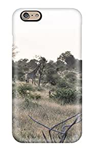 Fashion Tpu Case For Iphone 6- Giraffe Defender Case Cover
