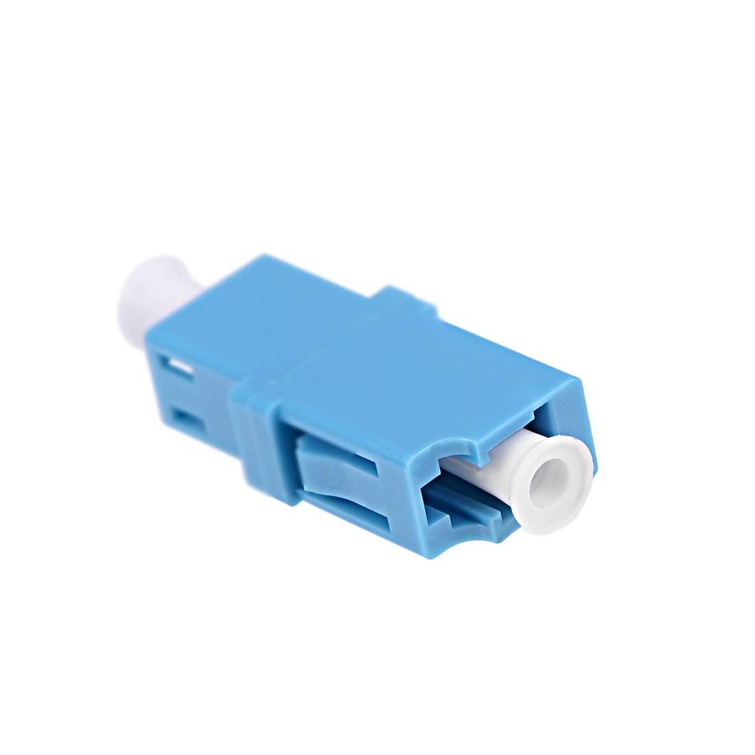 uxcell LC to LC Fiber Coupler Flange Type Fiber Optical Adapter for Server Rack Patch Panel Connect Singlemode//Multimode 10Pcs