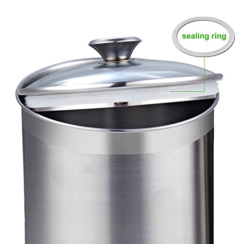Cooks Standard 4Piece Canister Set 4 pcs Stainless Steel
