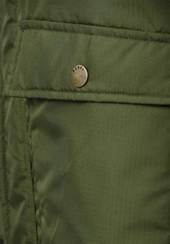Winter Jacket Maher with Redefined Jacket with Fleece Men's Dark Olive Hood Teddy Rebel Outdoor 5ZqttwI