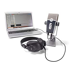 AKG Pro Audio Podcaster Essentials Kit for St...