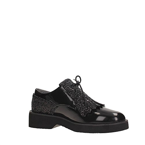 CafèNoir Femme Lacets Lacets LEC945 Chaussures CafèNoir à LEC945 Chaussures 41 à BLACK 8RzIqI