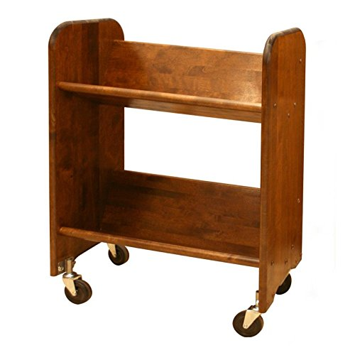 Catskill Craftsmen Bookmaster Book Rack in Walnut Stained Birch by Catskill Craftsmen