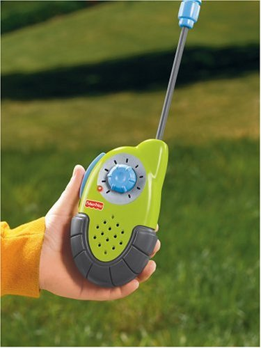 Fisher-Price Kid-Tough Walkie Talkies (Colors May Vary) by Fisher-Price (Image #3)