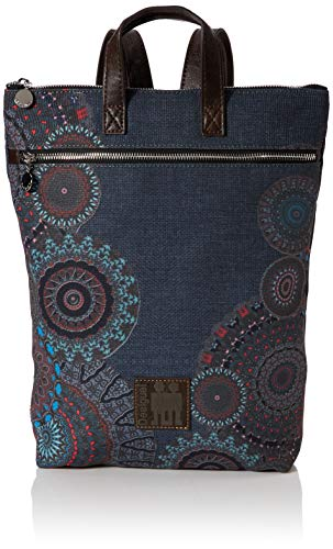 Desigual Backpack Arty Stay BAZA, gris MEDIO