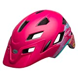 Bell Sidetrack Cycling Helmet - Kid's Gnarly Matte Berry 50-57cm