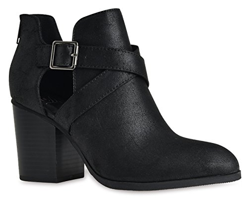 ut Criss Cross Wooden Chunky Stacked High Heel Zip up Ankle Booties High Heel Boots by LUSTHAVE Black 8 (Cross Ankle Boot)