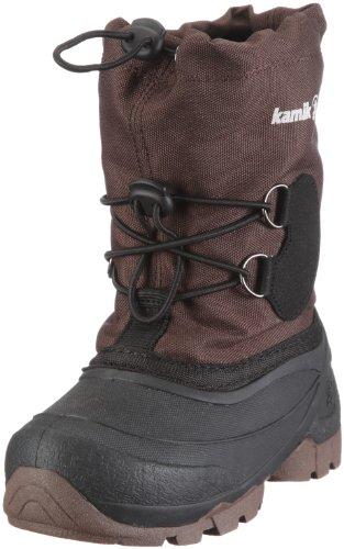 Kamik Southpole2 NK8859 Unisex-Kinder Schneestiefel Braun (dark brown DBR)