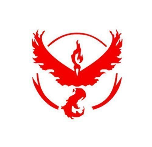 Pokemon Team Valor Decal
