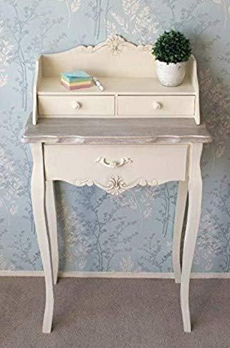 Vintage escritorio antiguo francés mesa muebles pequeño espacio ...