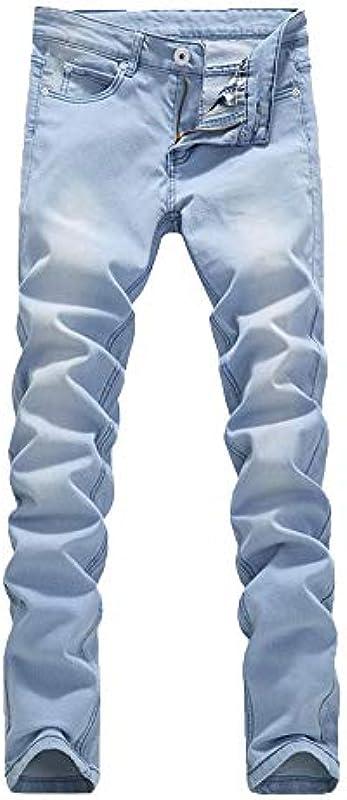 Mengmiao męskie spodnie Cargo Denim spodnie do biegania Tapered Fit jeans rajstopy: Odzież