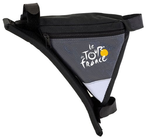Tour de France Rahmen-Dreiecktasche, schwarz/grau