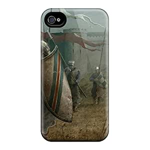 Cute Tpu RachelMHudson Medieval Knights Case Cover For Iphone 4/4s