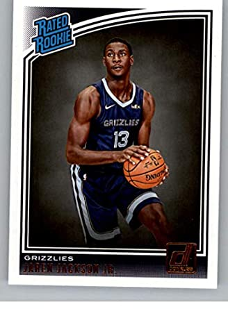 4e812f01061c 2018-19 Donruss  188 Jaren Jackson Jr. Memphis Grizzlies Rookie Basketball  Card