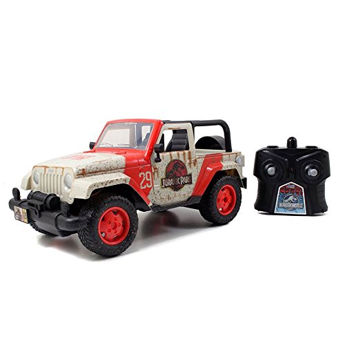 Jada Toys Jurassic World Jeep R/C Vehicle (1:16 Scale)