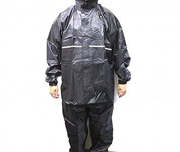 Traje impermeable combinado, traje para lluvia azul para ...