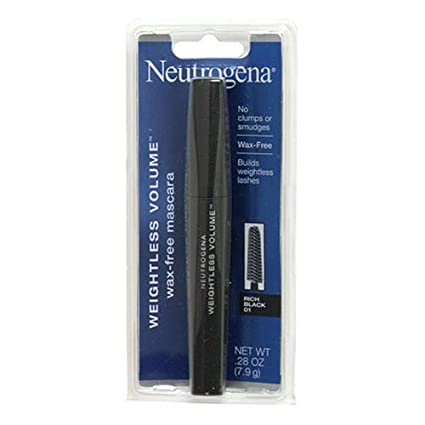 Amazon.com: Neutrogena Weightless volumen wax-free Mascara ...