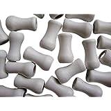 Amazing Drapery Hardware- Window Blind Wood Cord Tassels/knobs Cord - 12 Pack! (White)