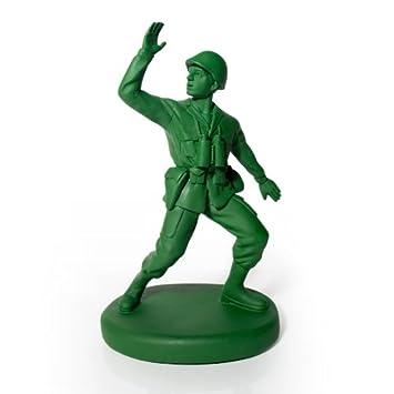 Suck UK Tope para Puerta con Forma de Soldado de Guardia, Plastic Polyresin, Green, 16.50x27.80x12.00 cm: Amazon.es: Hogar
