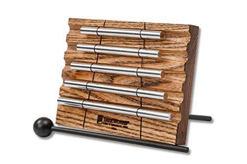 TreeWorks Chimes TRE430 Made in USA Five Tone Energy Chime for Meditation and Classroom Use by TreeWorks Chimes
