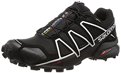 salomon men 39 s speedcross 4 gtx trail runners. Black Bedroom Furniture Sets. Home Design Ideas