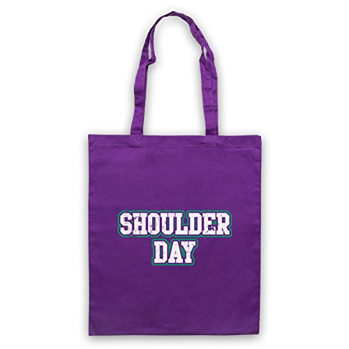 Bag Day Tote Slogan Bodybuilding Purple Shoulder Workout pZdqXXw