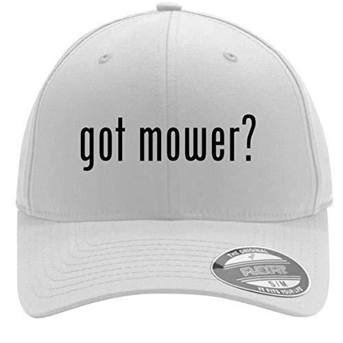 got Mower? - Adult Men's Flexfit Baseball Hat Cap, White, Large/X-Large