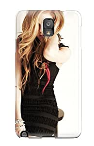 New Snap-on CaseyKBrown Skin Case Cover Compatible With Galaxy Note 3- Avril Lavigne 46