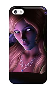 Fashion Tpu Case For Iphone 5/5s- Fairy Defender Case Cover