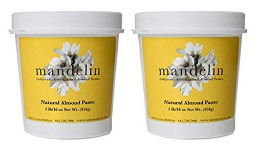 Mandelin Natural Almond Paste (2lb), 50% Almonds, 50% Sugar by Mandelin (Image #2)