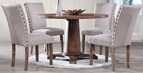Best Master Furniture Carey DN (Set Round Large Dining)