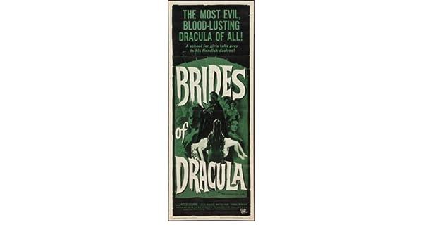 Brides Of Dracula Insert Movie Poster 14x36 Replica