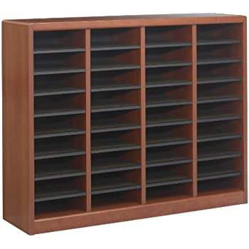 Amazoncom Safco Products Wood Adjustable Literature Organizer 36