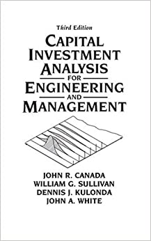 Book Capital Investment Analysis for Engineering and Management (3rd Edition)