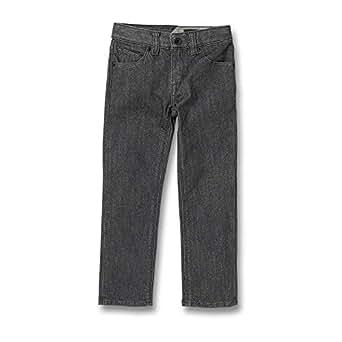 Volcom Baby Little Boys' (4-7) Vorta Jeans - Gray - 2T