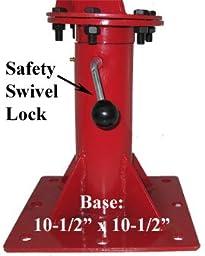 1,000lb Swivel Lift Hoist Truck Dock Crane Davit 1/2ton