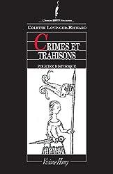 Crimes et trahisons: LES LAJOY, VOL.2.