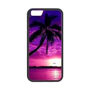 "Fggcc Palm Trees And Sunset Pink Pattern Hard Case for Iphone6 4.7"",Palm Trees And Sunset Pink Iphone6 4.7"" Case (pattern 4)"