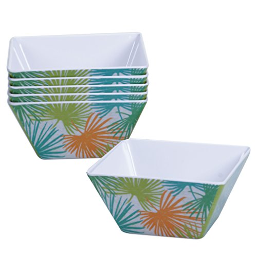 Certified International Corp Paradise Ice Cream Bowls, 6 by 3