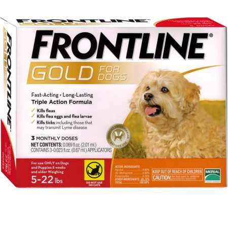 Frontline Gold for Dogs 522 lbs Orange (3 Month) by Merial