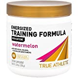 True Athlete Energized Training Formula with Caffeine Watermelon, Supports Energy, Endurance Performance NSF Certified for Sport, 90 Servings (10.8 Ounces Powder)