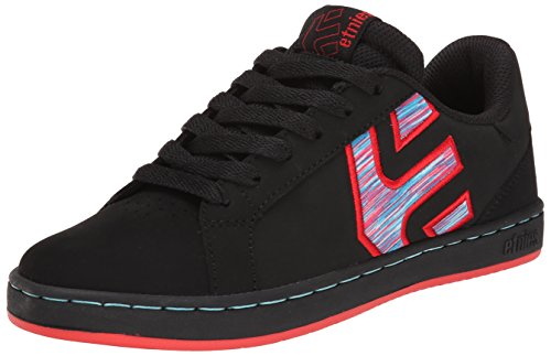 Etnies Fader Ls W's, Color: Black/Black/Red, Size: 37.5 EU