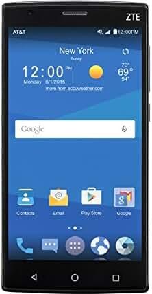 ZTE Z Max 2 16GB Unlocked GSM 4G LTE Quad-Core Android Smartphone w/ 8MP Camera - Black
