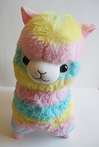 LARGE Alpaca Llama RAINBOW SELLER product image