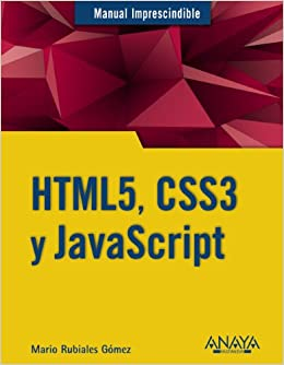 HTML5, CSS3 y Javascript / HTML5, CSS3 and Javascript (Manual