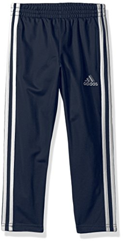 adidas Boys' Little Tricot Pant, Trainer Navy, 4 - Old Navy Athletic Pants