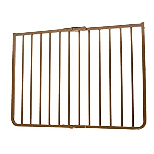 Cardinal Gates Outdoor Child Safety Gate, Brown 48