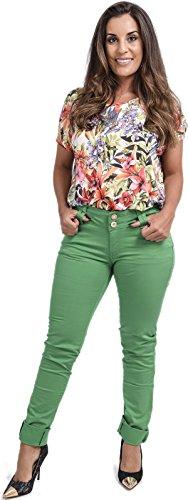 Verde Vaqueros Fashion para mujer Xpression IBqx6I